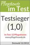 Testsiegel für den Testsieger