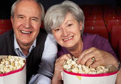 Kino für die Generation 60+